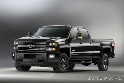 Chevrolet вернет Silverado и Colorado Midnight Edition