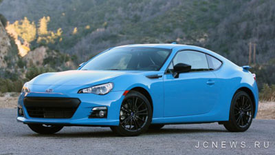 Subaru BRZ Series.HyperBlue: краткий обзор