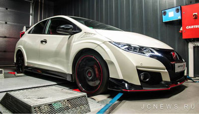 Honda Civic Type R от Shiftech