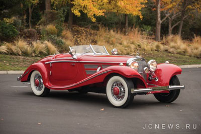 Mercedes-Benz 540 K Special Roadster 1937 года был продан за 9,9 млн долларов